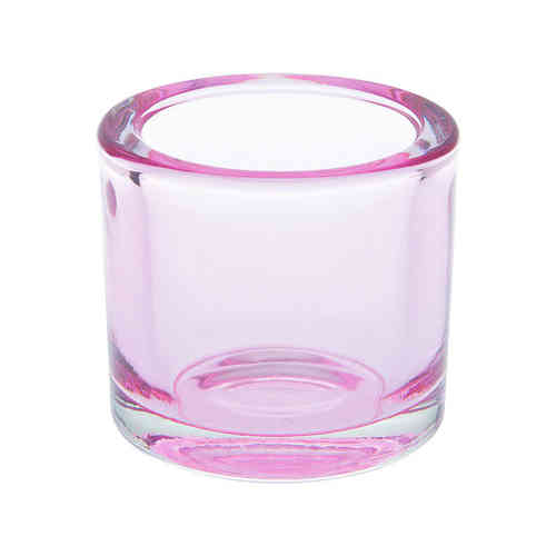 Teelichthalter Glas, light pink, Ideal Home Range IHR