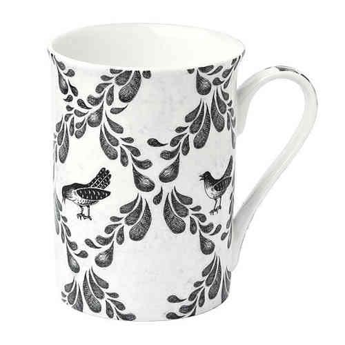 Blackbird Beauty Bone China Becher, Ideal Home Range IHR