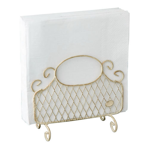 Serviettenhalter antique cream stehend, Ideal Home Range IHR