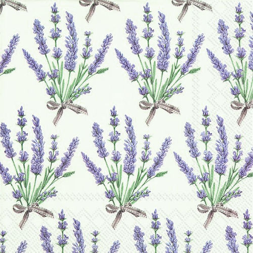 Bouquet of Lavender Lunch-Servietten, Ideal Home Range IHR
