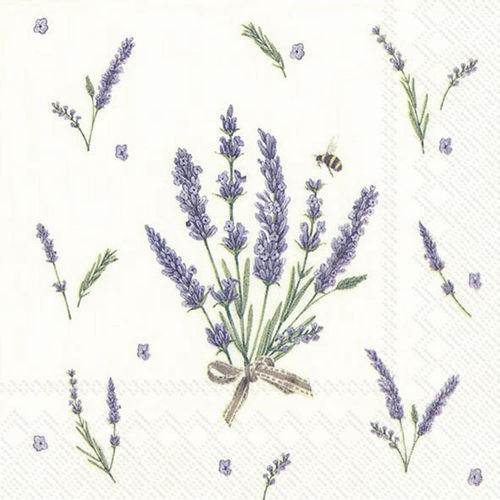 Bouquet of Lavender Cocktail-Servietten, Ideal Home Range IHR