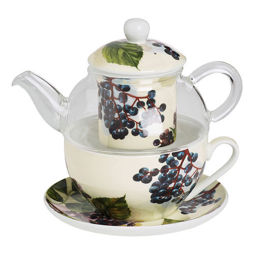 "Tea for one ""Holunderbeere"", Ideal Home Range IHR"