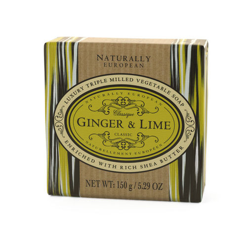 """Ginger & Lime"" Seife, Naturally European 150g, The Somerset Toiletry Company"
