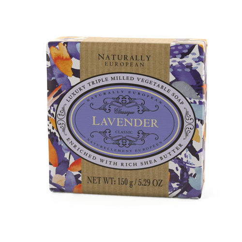 """Lavender"" Seife, Naturally European 150g, The Somerset Toiletry Company"