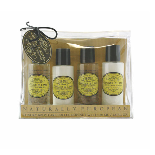 """Ginger & Lime"" Travel Collection, Naturally European, The Somerset Toiletry Company"