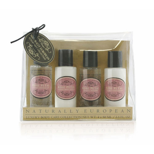 """Rose Petal"" Travel Collection, Naturally European, The Somerset Toiletry Company"