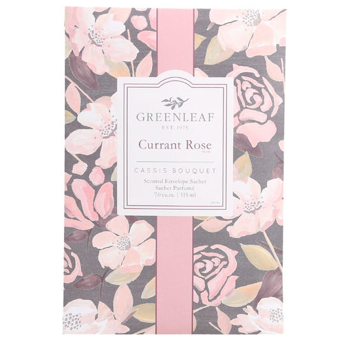 "Duftsachet Large ""Currant Rose"" 115ml, Greenleaf"
