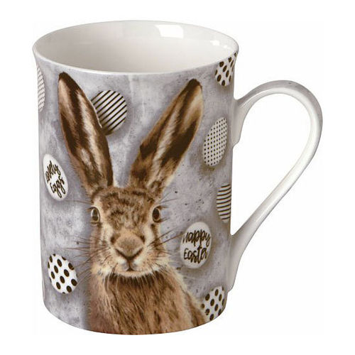 "Bone China Becher ""Oh my Rabbit"",  Ideal Home Range IHR"