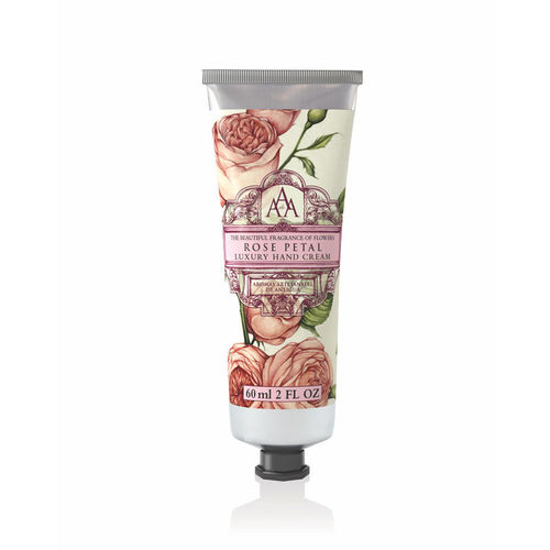 """Rose Petal"" Handcreme, AAA Floral 60ml, The Somerset Toiletry Company"
