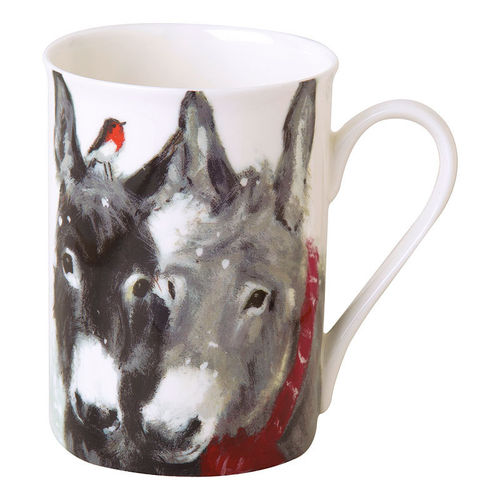 "Bone China Becher ""Pips and Grey"",  Ideal Home Range IHR"