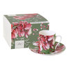 "Espressotasse ""Winter Amaryllis, green"", Ideal Home Range IHR"