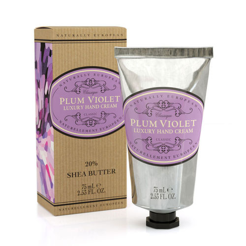 """Plum Violet"" Handcreme, Naturally European 75ml, The Somerset Toiletry Company"