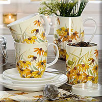 Bone China Becher